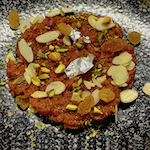 Home-made Carrot Halwa (Dessert)
